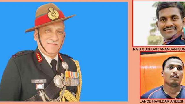 Army chief to honour heroic veterans