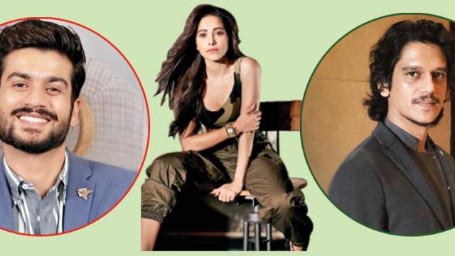 Sunny Kaushal, Nushrat Bharucha and Vijay Varma in 'Hurdang'