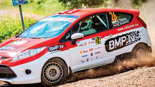 Takale finishes 7th in Super Rally format