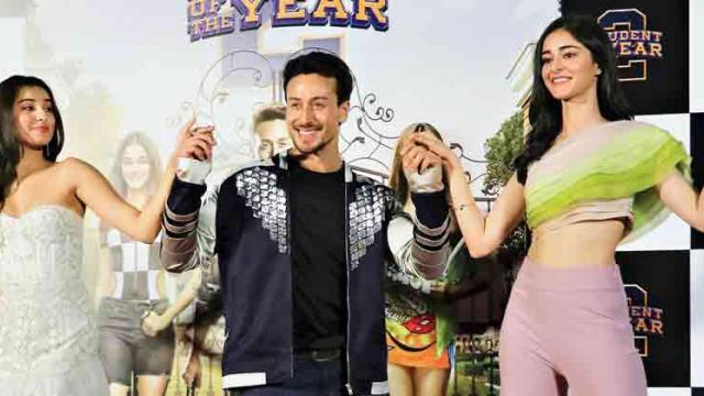 Tiger, Ananya and Tara revisit '70s hit 'Yeh Jawani Hai Deewani'