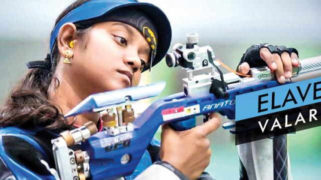 Elavenil wins gold, as Indians dominate
