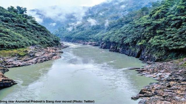 People living near Arunachal's Siang river moved to safety