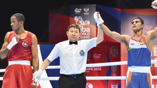 Panghal and Kaushik ensure bronze medals