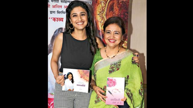 Kamini Khanna (right) with her actress daughter Ragini