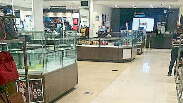 Nakshatra store inside Shoppers stop at Kumar Pacific Mall was also searched by ED in connection with Nirav Modi