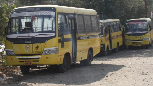 24 students hurt as school bus overturns in stream in Wagholi