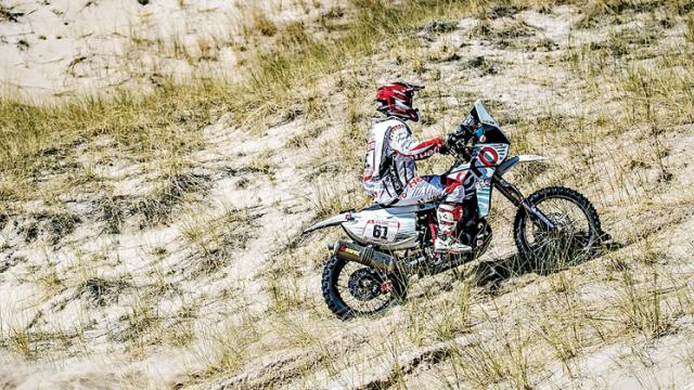 Terrific Mena steers Hero Motosports to 4th place finish