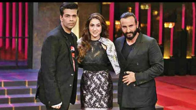 Coolest father-daughter duo Saif and Sara Ali Khan to grace the 'Koffee' couch