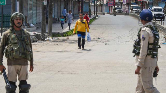Restrictions reimposed in parts of Srinagar after incidents of violence