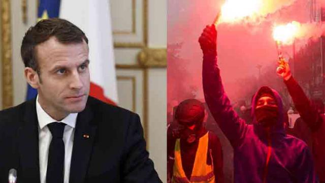 Macron to break silence