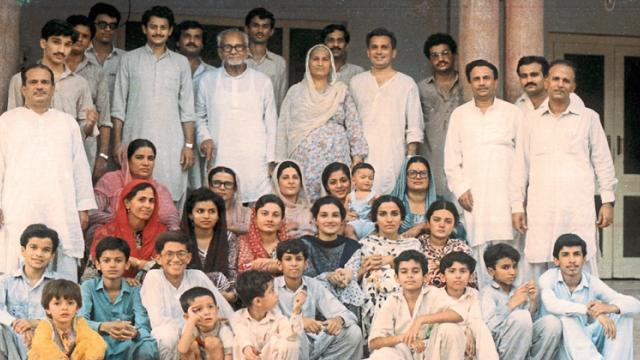 The author's family in Gojra