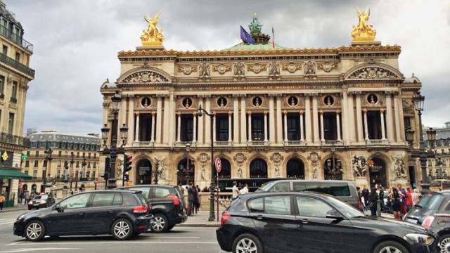 Dreaming of Paris in Paris