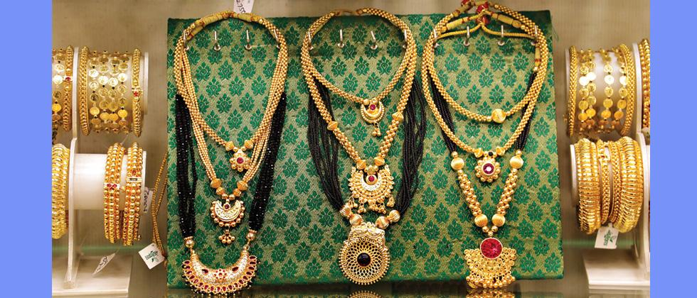 Attractive jewellery at Sonchafa, Laxmi Road