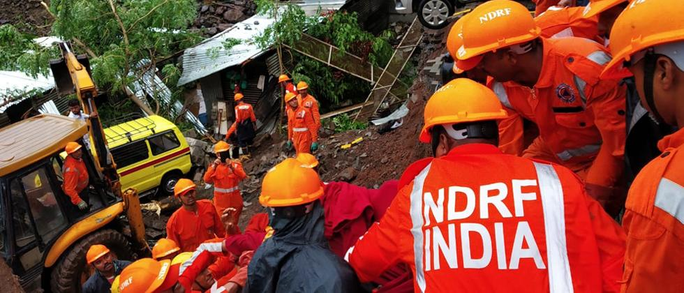 At least 15 persons  including four children died after a compound wall of a building collapsed on a labour camp in Kondhwa, at around 1.40 am on  Saturday. The deceased labourers hailed from Bihar and West Bengal, Pune district Collector Naval Kishore Ra