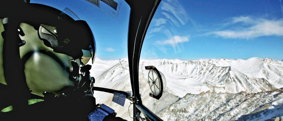 Siachen Pioneers, Indian Air Force's helicopter unit assigned to support Sachien Glacier's least accessible posts, operate two helipads at a height of 21,000 feet
