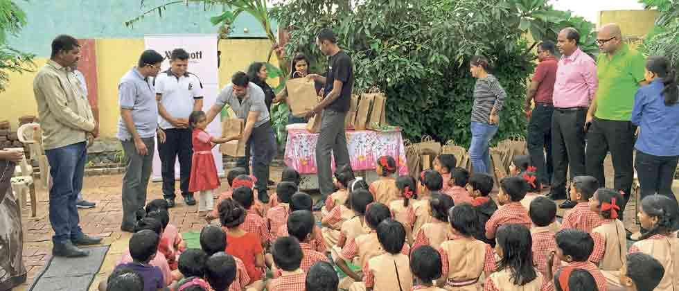 Courtyard by Marriott Pune Chakan helps uplift students