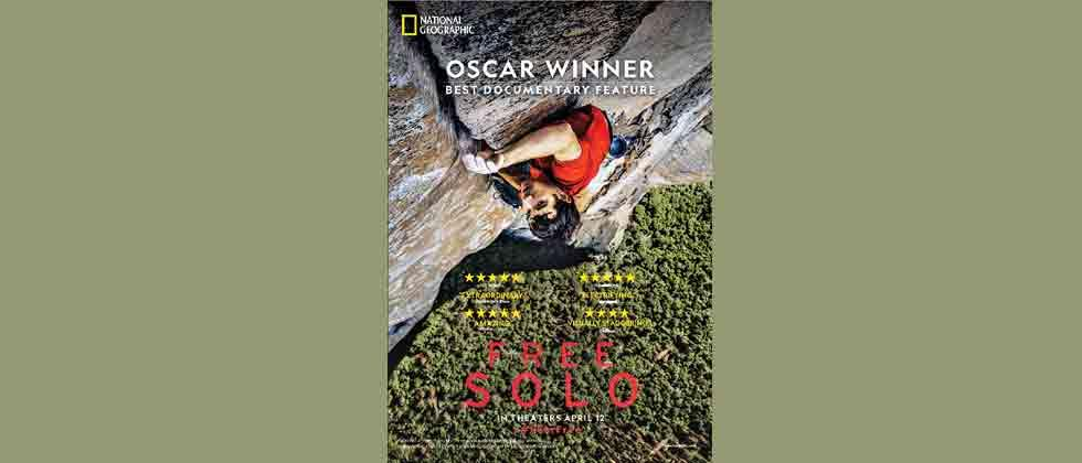 'Free Solo' to release in India on April 12