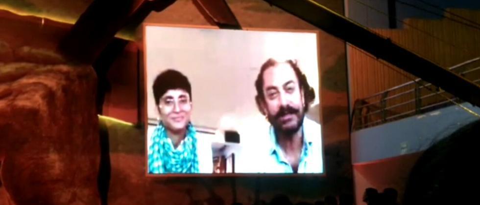 Actor Aamir Khan and Kiran Rao down with Swine Flu