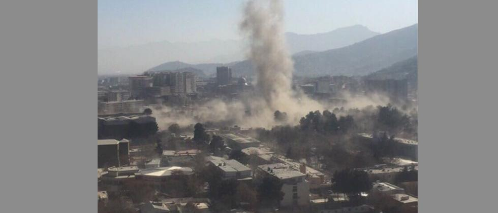 Explosion rocks Kabul, leaving multiple casualties