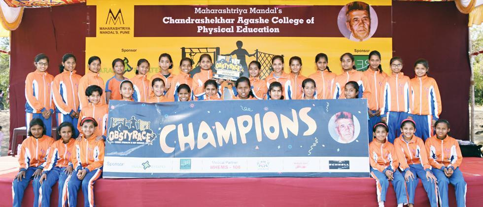 Jnana Prabodhini girls finish on top