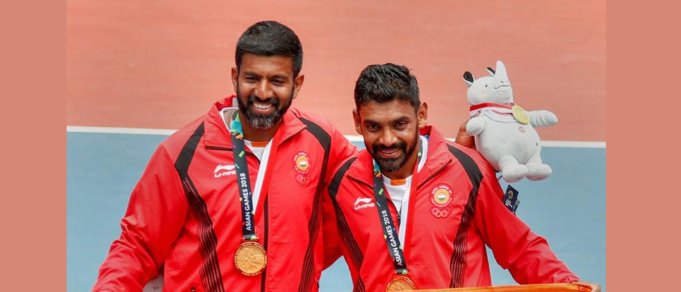 Bopanna-Sharan win gold