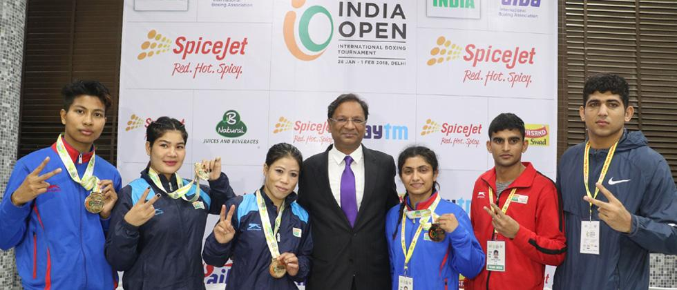 India make a killing, clinch 8 golds
