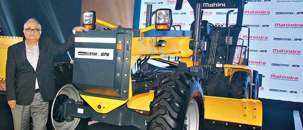 Mahindra enters road construction equipment segment