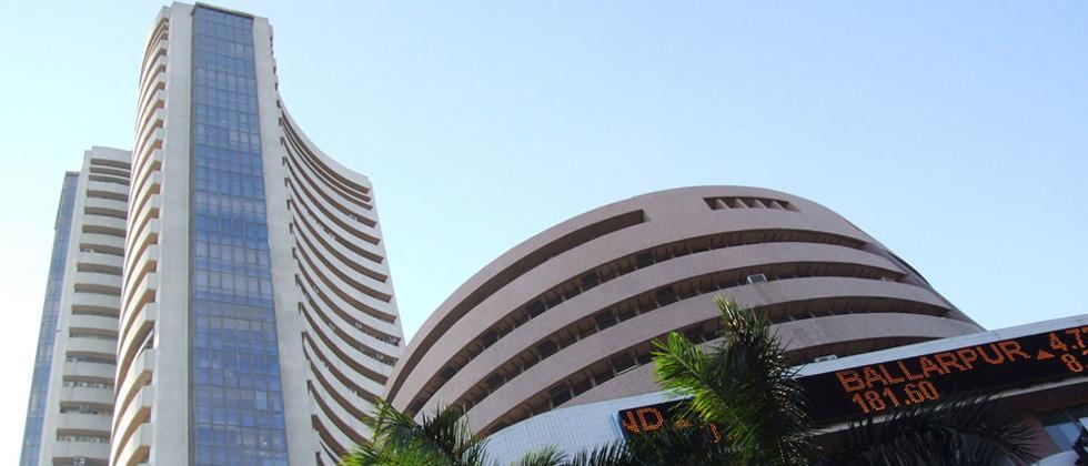 Sensex, Nifty drop as trade war fears grip markets