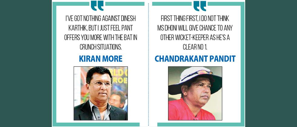 Pant's omission has stumpers stumped