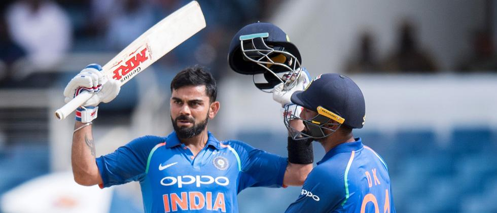 Briliant Kohli leads India to 3-1 series win over West Indies