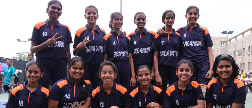 Dastur girls clinch Under-14 title