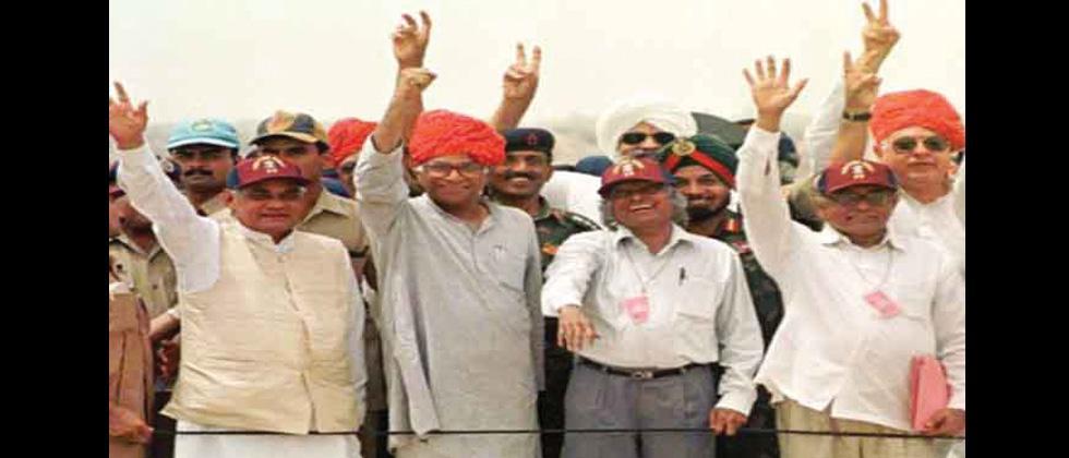Atal Bihari Vajpayee as Prime Minister of India
