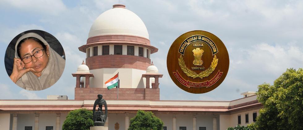 CBI vs Mamata: SC to hear CBI's plea on Tuesday