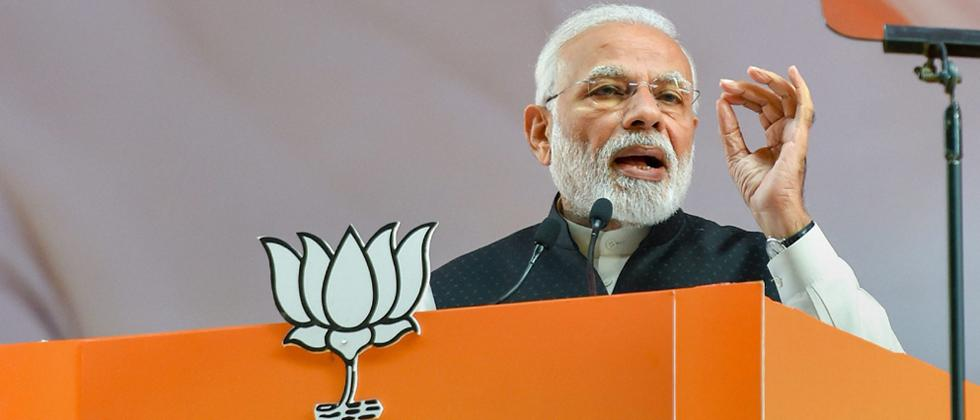 Opposition wants helpless govt to promote corruption, BJP for strong dispensation: Modi