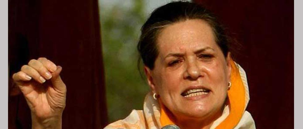 All sections suffering under Modi government: Sonia Gandhi