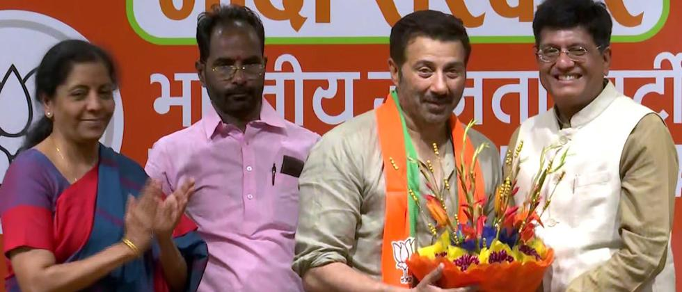 LokSabha 2019: Sunny Deol joins BJP, says party is his family