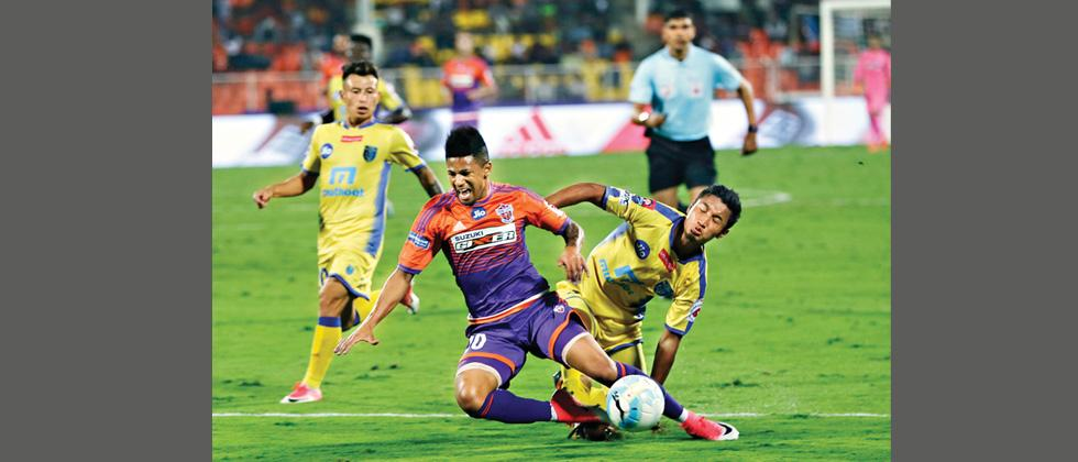 CK Vineeth stuns hosts FC Pune City