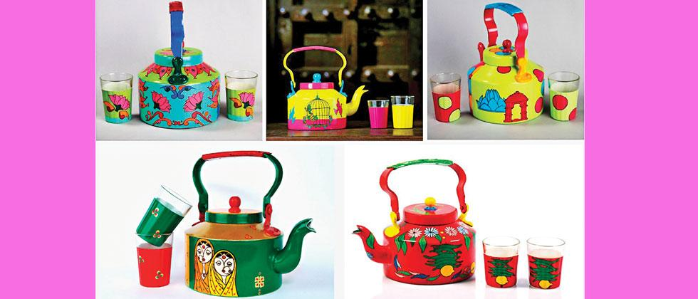 'Quirky Kettle' painting workshop