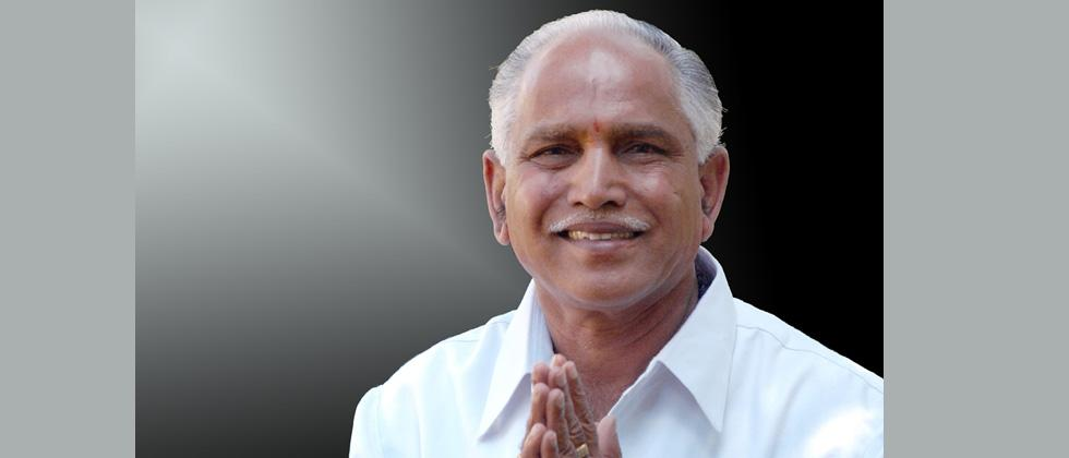 Yeddyurappa stakes claim to form BJP government in Karnataka