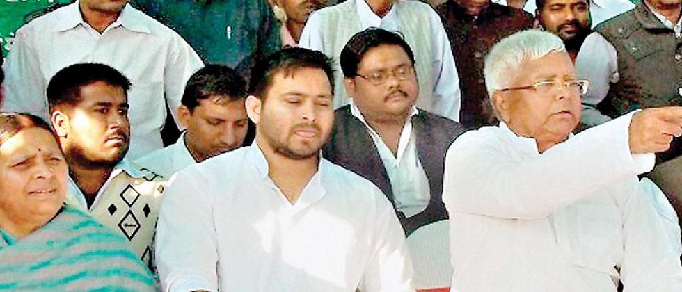 Tejashwi Yadav has started emerging from the shadow of his father Lalu, even as RJD's top leadership is exploiting every chance to make Lalu Yadav's imprisonment and health complications an emotive issue