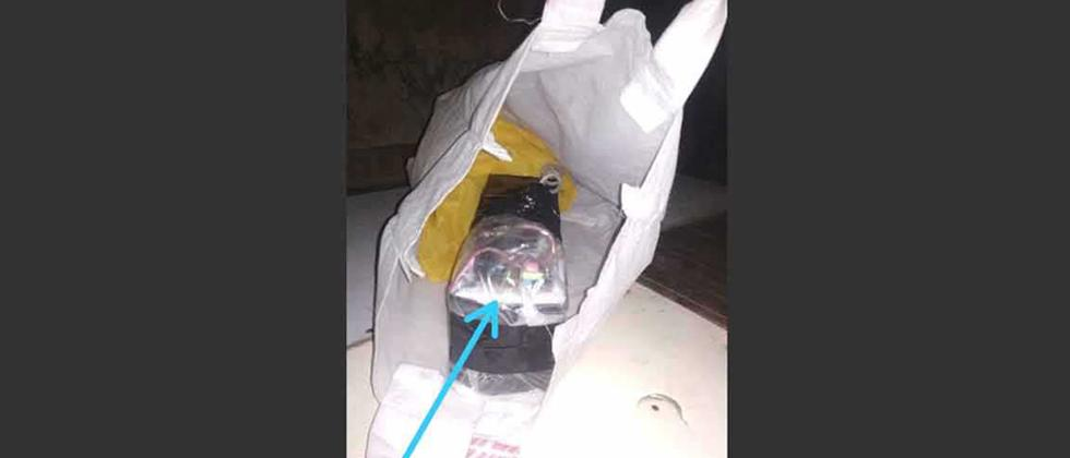 Detonator, crude bomb material found in ST bus in Raigad