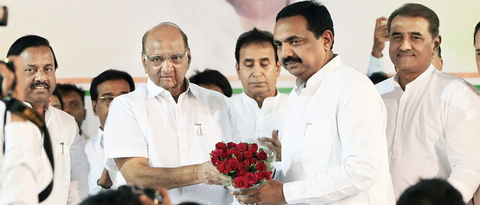 Jayant Patil is new State NCP chief