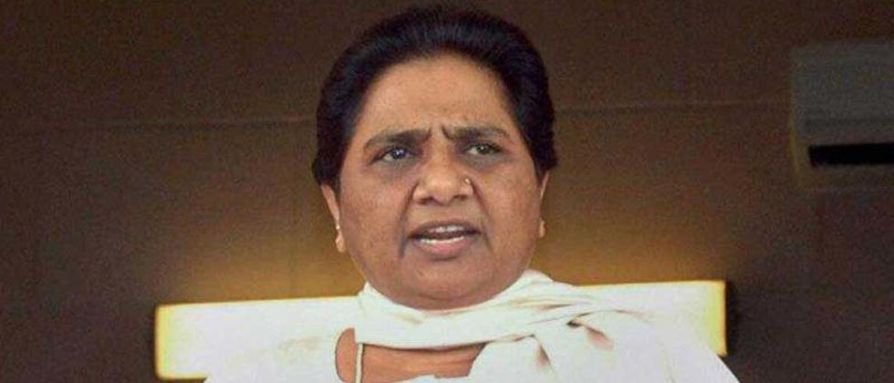 Mayawati's stern warning to Cong