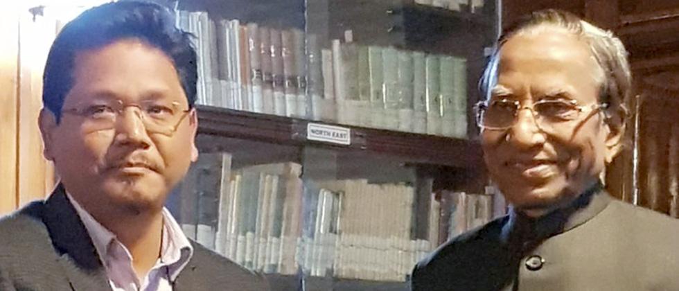 Conrad Sangma becomes Meghalaya CM