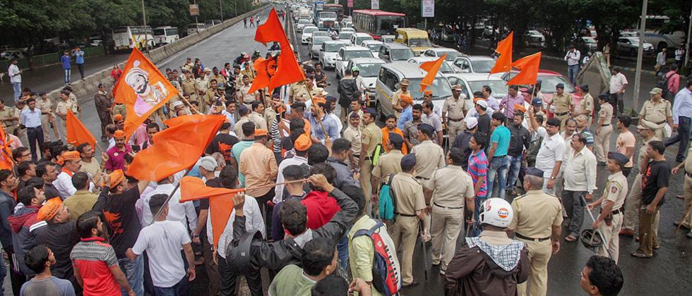 Maratha quota bandh called off midway in Mumbai after violence