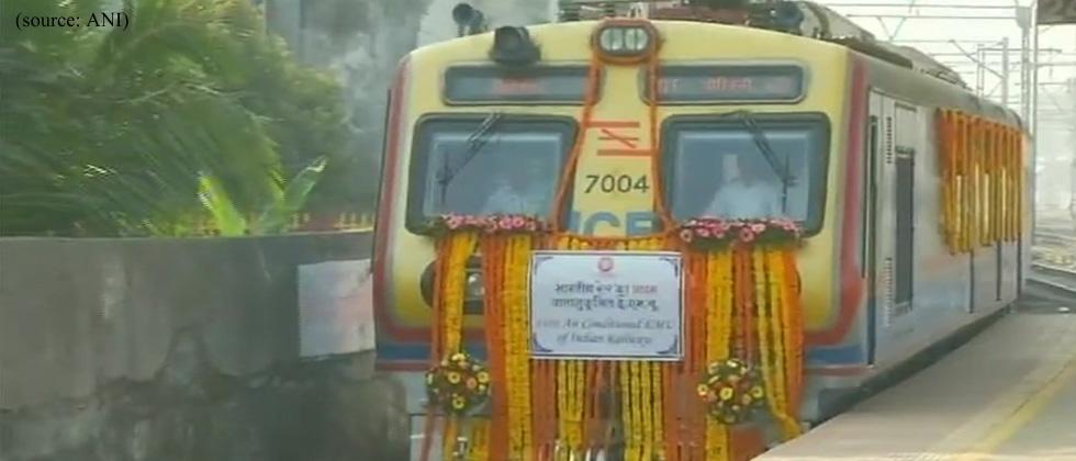 Mumbai commuters get AC local trains