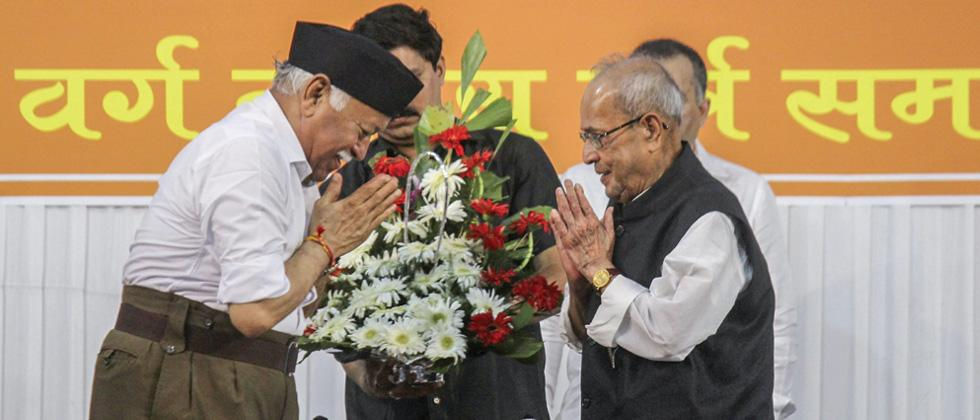 Any attempt to define India through religion, intolerance will dilute its existence: Pranab Mukherjee