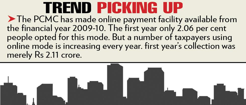 More taxpayers in PCMC opting for digital payment