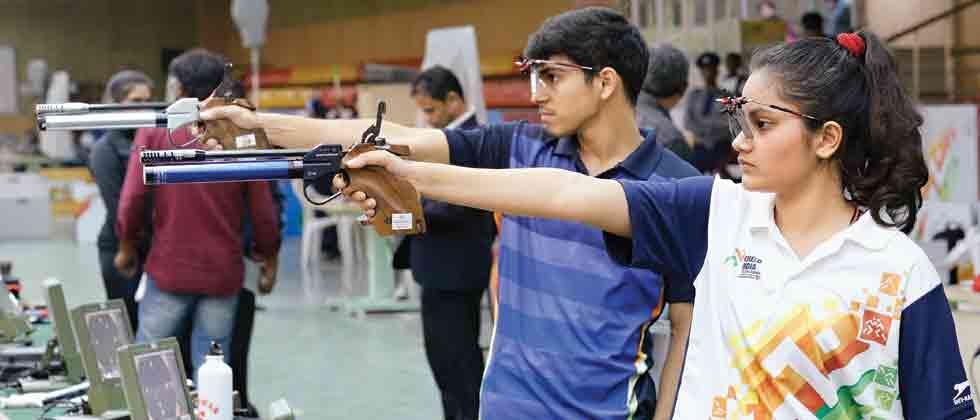 Anmol, Priya pair augur well for mixed air pistol
