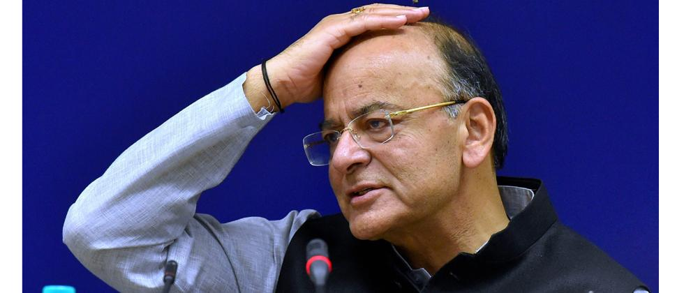 Union Finance Minister Arun Jaitley addressing media after the 22nd meeting of the Goods and Services Tax (GST) Council, in New Delhi on Friday. PTI Photo